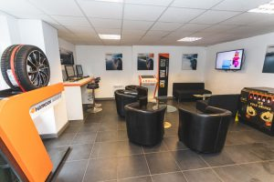 Mr Tyre Leicester Branch Reception Area