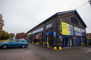 mr tyre lichfield branch exterior
