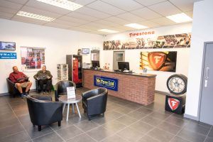 mr tyre lichfield reception area
