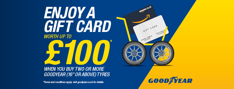Goodyear 2021 Spring promotion graphic